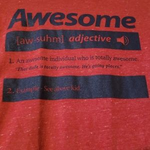 Old Navy Shirts & Tops - Long Sleeve Boys Awesome shirt